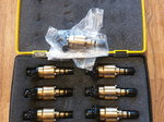 Mike Moran 550lb/hr billet injectors 9pc