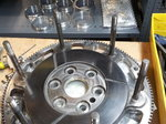 "Titanium East/West Flywheel 8"" for Chevy"