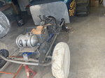 Rolling chassis sand drag car