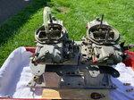 Edelbrock ProRam II Manifold & Carburetors-PRICE REDUCED!