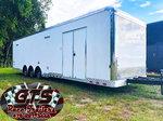 Cargo Mate 34' Bathroom Race Trailer