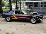 1968 pro street camaro