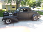 1937 Chevy Pro-Street Coupe