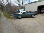 1957 ford thunderbird fiberglass car for sale or trade