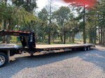 2016 45' power beaver tail Gooseneck Trailer