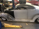 1937 37 Ford Roadster LS1 Project hard part done