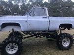 87 box chevy mud truck