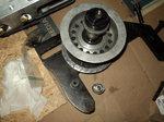 Blower belt tensioner