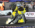 "NHRA ""1000HP Nitro Harley Top Fuel Motorcycle"""