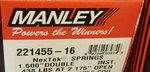 Manley NexTek Valve Springs p/n221455-16