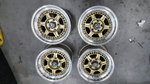 Vintage Jongbleod racing wheels