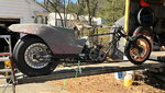 Funny bike rolling Chassis