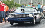 Rolling plymouth duster