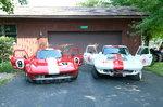 TWO Corvette's