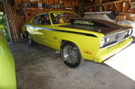 72 Duster drag car for sale