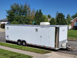 Trailer, Aluminum, 28-foot, dual axle, fully equipped 2006 E  for sale $13,500