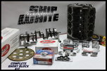 SBC CHEVY 383 SHORT BLOCK KIT FORGED FLAT TOP 4.030 PISTONS   for sale $1,995