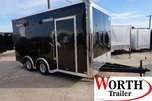 16' ENCLOSED CARGO TRAILER ST# 37958  for sale $13,500