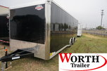 24' ENCLOSED SCREWLESS TRAILER for Sale $9,400