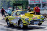 1959 corvette drag car & 20 ft enclosed trailer  for sale $65,000