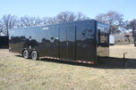 New 2018 30' BP Cont. Cargo Auto Master Car Trailer
