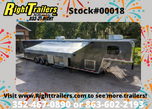 2021 8.5'x46' Vintage Gooseneck Race Trailer   for sale $54,999