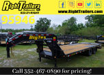 2021 8.5x25 Big Tex Gooseneck Equipment Trailer