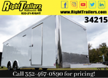 2021 8.5x24 Bravo Race Trailer with PED for Sale