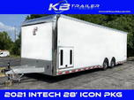 2022 28' inTech All Aluminum Racecar Trailer w/ ICON PACKAGE  for sale $32,994
