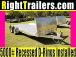 18ft ATC Trailers Car Hauler w/ Gravel Guard