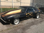 1969 Chevrolet Camaro Drag car with Nitrous  for sale $12,200