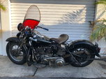 1940 Knucklehead  for sale $22,000