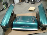 1957 Chevy fenders, inner fenders and hood  for sale $1,800
