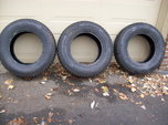 1st $40 Today-Three like new 235x70xR16 tires  for sale $40
