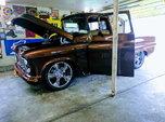 1956 chevy fleet side p/u