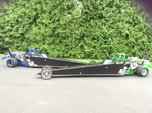 2 Immaculate Junior Dragsters - Blue and Green-Make Offer!!  for sale $20,000