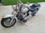 Custom 2005 HarleyFat Boy possible trade for race engi  for sale $9,000