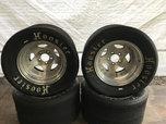Hoosier TA1 Road Racing Tires and Wheel Package  for sale $500
