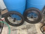 Hayden top dragster spoke wheels  for sale $800