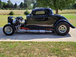 1933 COUPE F2 PROCHARGER E-85 BIG BLOCK  for sale $43,000