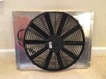 "SPAL 16"" Low-Profile Fan 12V and aluminum fan shroud  for sale $75"