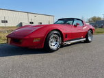 1982 Chevrolet Corvette Coupe Removal Top Sports Car for Sale $24,950