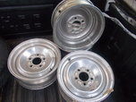 ALUMINUM WHEELS CHEVY 5.00 PATTERN  for sale $400