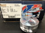JE SBC. SB2 2.2 Flat Top Pistons pins and rings  for sale $400
