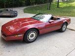 1987 C4 Corvette Convertible