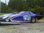 02 Funnycar S&W 125 Chassis,02 Vette body