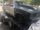 83 Malibu Wagon dragster  for sale $40,000