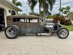 Blown Chopped Sedan Rat Rod