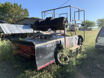 Trailer with tire rack  for sale $1,000