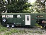 Gooseneck Horse Trailer W/ Living Quarters  for sale $3,500